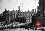 Image of Buildings destroyed by German  bombing France, 1940, second 1 stock footage video 65675053839