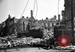 Image of Buildings destroyed by German  bombing France, 1940, second 2 stock footage video 65675053839