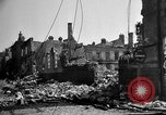 Image of Buildings destroyed by German  bombing France, 1940, second 11 stock footage video 65675053839