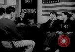 Image of Navy Recruitment office Indiana United States USA, 1942, second 1 stock footage video 65675053863