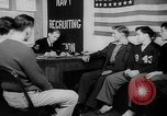 Image of Navy Recruitment office Indiana United States USA, 1942, second 9 stock footage video 65675053863