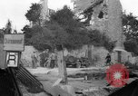 Image of Wrecked buildings Saint Malo France, 1944, second 11 stock footage video 65675053893