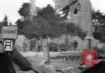Image of Wrecked buildings Saint Malo France, 1944, second 12 stock footage video 65675053893