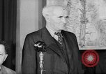 Image of David Ben Gurion at World Zionist Conference London England, 1945, second 4 stock footage video 65675053901