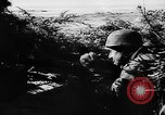 Image of German live fire training France, 1944, second 12 stock footage video 65675053928