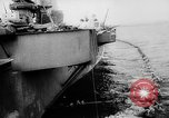Image of Aircraft carrier Pacific Ocean, 1942, second 8 stock footage video 65675053958