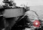 Image of Aircraft carrier Pacific Ocean, 1942, second 10 stock footage video 65675053958
