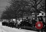Image of racing sled Bridgeton Maine USA, 1941, second 5 stock footage video 65675053965