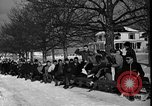 Image of racing sled Bridgeton Maine USA, 1941, second 6 stock footage video 65675053965