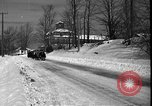 Image of racing sled Bridgeton Maine USA, 1941, second 10 stock footage video 65675053965