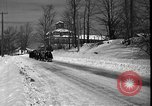 Image of racing sled Bridgeton Maine USA, 1941, second 11 stock footage video 65675053965