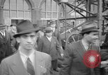 Image of Italians at Worlds Fair violating immigration laws New York City USA, 1941, second 8 stock footage video 65675053970