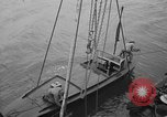Image of radio controlled boat Fort Story Virginia USA, 1941, second 5 stock footage video 65675053971