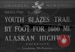 Image of Alaskan Highway Hazelton Canada, 1941, second 1 stock footage video 65675053972