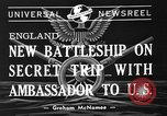 Image of Franklin Roosevelt United States USA, 1941, second 4 stock footage video 65675053973
