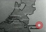 Image of explosions Aachen Germany, 1944, second 3 stock footage video 65675053989