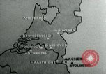 Image of explosions Aachen Germany, 1944, second 6 stock footage video 65675053989