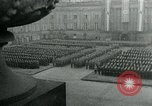 Image of German Youth Leader Arthur Axmann inspects Hitler Youth Germany, 1944, second 5 stock footage video 65675053990