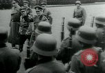 Image of German Youth Leader Arthur Axmann inspects Hitler Youth Germany, 1944, second 9 stock footage video 65675053990