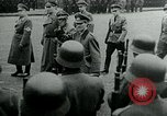 Image of German Youth Leader Arthur Axmann inspects Hitler Youth Germany, 1944, second 10 stock footage video 65675053990
