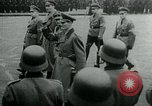 Image of German Youth Leader Arthur Axmann inspects Hitler Youth Germany, 1944, second 11 stock footage video 65675053990