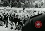 Image of German war hero Germany, 1944, second 4 stock footage video 65675054003