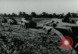 Image of German aircraft bomb Soviet positions Eastern Front European Theater, 1944, second 10 stock footage video 65675054006