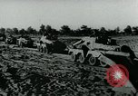 Image of German aircraft bomb Soviet positions Eastern Front European Theater, 1944, second 11 stock footage video 65675054006