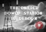 Image of Dnieper Power Plant Ukraine, 1947, second 2 stock footage video 65675054022