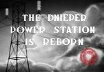 Image of Dnieper Power Plant Ukraine, 1947, second 4 stock footage video 65675054022