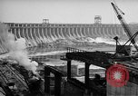 Image of Dnieper Power Plant Ukraine, 1947, second 9 stock footage video 65675054022