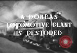 Image of locomotive parts Donbas Soviet Russia, 1947, second 3 stock footage video 65675054023