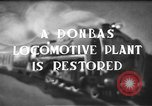 Image of locomotive parts Donbas Soviet Russia, 1947, second 4 stock footage video 65675054023