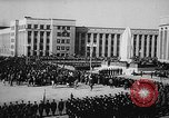 Image of Siberian Institute of Metallurgy statue of Ordzhonikidze Novokuznetsk Russia Soviet Union, 1949, second 7 stock footage video 65675054028