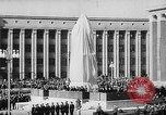Image of Siberian Institute of Metallurgy statue of Ordzhonikidze Novokuznetsk Russia Soviet Union, 1949, second 12 stock footage video 65675054028