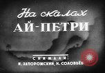 Image of Climbing Ai-Petri peak Crimea Soviet Union, 1949, second 3 stock footage video 65675054031