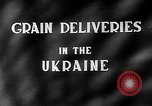 Image of Grain deliveries Ukraine, 1946, second 3 stock footage video 65675054034