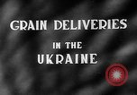 Image of Grain deliveries Ukraine, 1946, second 4 stock footage video 65675054034