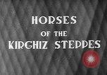 Image of Kirghizia Kyrgyz Soviet Socialist Republic, 1946, second 2 stock footage video 65675054037