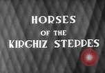 Image of Kirghizia Kyrgyz Soviet Socialist Republic, 1946, second 3 stock footage video 65675054037