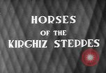 Image of Kirghizia Kyrgyz Soviet Socialist Republic, 1946, second 4 stock footage video 65675054037