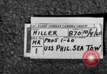 Image of USS Philippine Sea San Diego California USA, 1960, second 2 stock footage video 65675054041