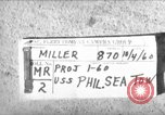 Image of USS Philippine Sea San Diego California USA, 1960, second 1 stock footage video 65675054042