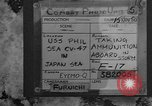 Image of USS Philippine Sea Sea of Japan, 1950, second 2 stock footage video 65675054090
