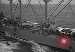 Image of USS Philippine Sea Sea of Japan, 1950, second 10 stock footage video 65675054090