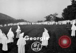 Image of KKK Atlanta Georgia USA, 1935, second 2 stock footage video 65675054109