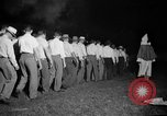 Image of Ku Klux Klan field ceremony Atlanta Georgia USA, 1935, second 1 stock footage video 65675054110