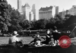 Image of Families at Central Park Zoo New York City USA, 1948, second 4 stock footage video 65675054120