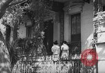 Image of residential houses Charleston South Carolina USA, 1939, second 9 stock footage video 65675054130