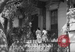 Image of residential houses Charleston South Carolina USA, 1939, second 10 stock footage video 65675054130